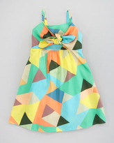 Milly Minis Mosaic-Print Voile Dress, Sizes 2-6
