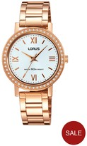 Lorus Rose Gold Bracelet Ladies Watch