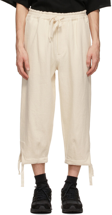 Thumbnail for your product : Kuro Off-White Denim Easy Trousers