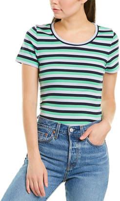J.Crew 1X1 Ribbed Stripe T-Shirt