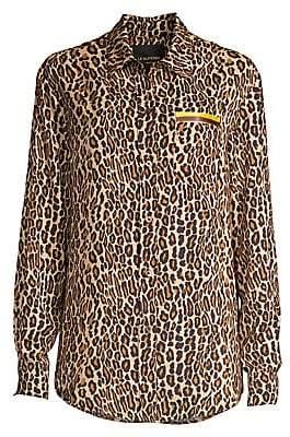 Le Superbe Women's Future Leopard Shirt