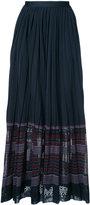 Oscar de la Renta gathered waist skirt - women - Viscose - M