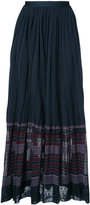 Oscar de la Renta gathered waist skirt