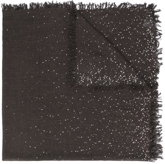 Faliero Sarti Speckled Knit Scarf