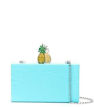 Edie Parker Pineapple clutch