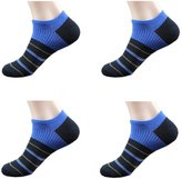 October Elf Men's Low-Cut Socks No Show Thin Socks Pack of 4