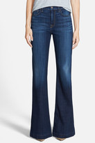 7 For All Mankind Ginger High Rise Flare Jean