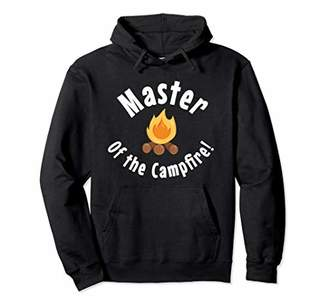 Camper Master Of The Campfire Funny Camping Pullover Hoodie
