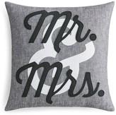 Alexandra Ferguson Mr. & Mrs. Linen Decorative Pillow, 16 x 16