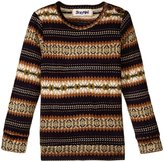 Siaomimi Jacquard Sweater (Toddler/Kid) - Khaki Jacquard - 3