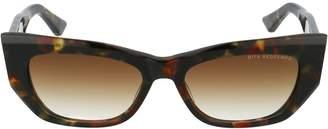 Dita Eyewear Tortoiseshell Effect Cat Eye Sunglasses