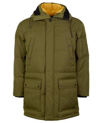 HUGO Melmus Hooded Down Parka Colour: DARK GREEN, Size: MEDIUM