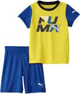 Puma Boys' 2Pc T-Shirt & Short Set