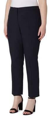 Arthur S. Levine Pinstripe Step-Cuff Pants