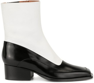 Y/Project Squared Toe Boots