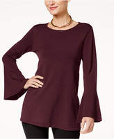 Alfani Bell-Sleeve Tunic Sweater, Created for Macy's