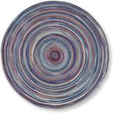 L.L. Bean Bean's Braided Wool Rug, Round