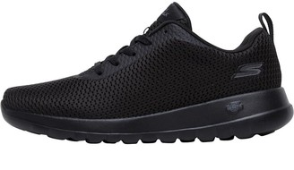 Skechers Womens GOwalk Joy Paradise Trainers Black/Black