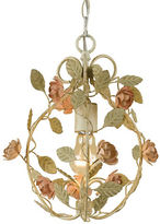 AF Lighting Elements Ramblin Rose Mini Chandelier