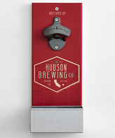 Red State Wall-Mounted Bottle Opener