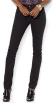 Lauren Ralph Lauren Stretch Premier Black Wash Skinny Jeans