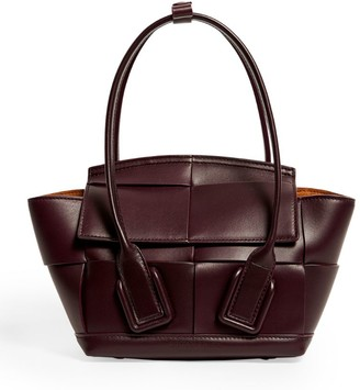 Bottega Veneta Mini Leather Arco 29 Top-Handle Bag