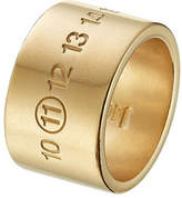 Maison Margiela Gold-Plated Silver Ring