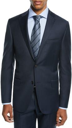 Hickey Freeman Men's Two-Piece Tasmanian Sharkskin Suit