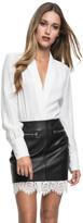 LAMARQUE - Ohara Silk Body Suit White
