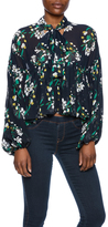 Endless Rose Floral Navy Blouse