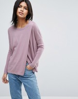 Asos LOUNGE Sweater with Cross Over Front