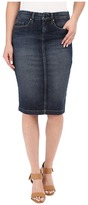 Blank NYC Denim Pencil Skirt in Denim Blue Women's Skirt