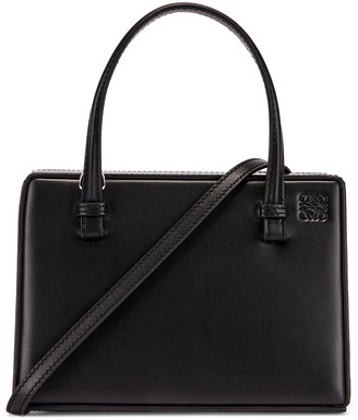 Loewe Box Small Bag in Black | FWRD