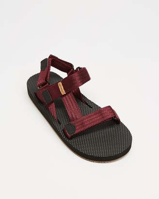 Freewaters Women's Red Sandals - Supreem Sport - Size One Size, 8 at The Iconic