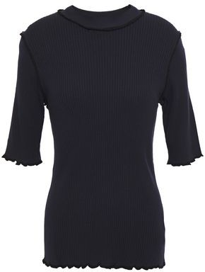 Joie Ribbed-knit Top
