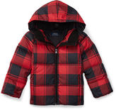 Ralph Lauren Quilted Down Hooded Jacket