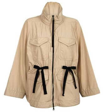 Moncler Bistre short trench coat