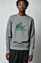 Lacoste Printed Croc Logo Crew Neck Sweatshirt