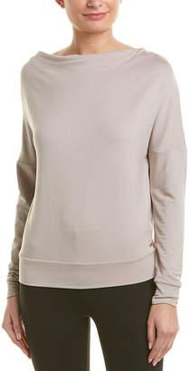 AVEC LES FILLES Open Back Sweatshirt