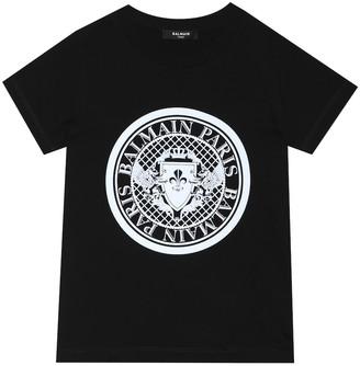 Balmain Kids Cotton T-shirt