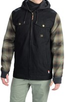 DC Provoke Flannel Shirt Jacket - Insulated (For Men)