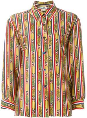 Hermes Pre-Owned Bamboo Print Shirt