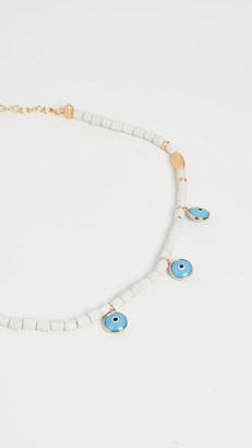Mallarino Cobalt Blue Handmade Ceramic Necklace