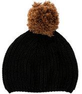 Little Marc Jacobs Girls' Knit Pom-Pom Beanie