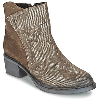 Metamorf'Ose VABTAL women's Low Ankle Boots in Brown