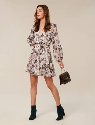 Ever New Sophia Wrap Mini Dress