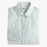Thomas Mason for J.Crew Ludlow shirt in gatlin green stripe