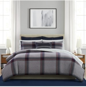 Tommy Hilfiger 3 Piece Heritage Tartan Full/Queen Mini Comforter Set Bedding