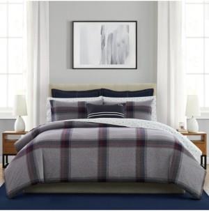 Tommy Hilfiger 3 Piece Heritage Tartan King Mini Comforter Set Bedding
