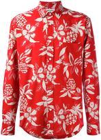 Saint Laurent Hawaiian print shirt